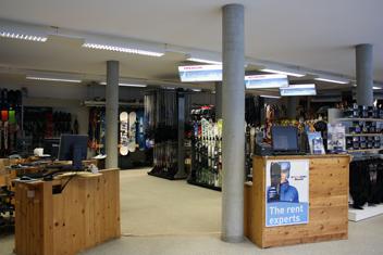 Zurbriggen Sport Saas-Grund: Angebot